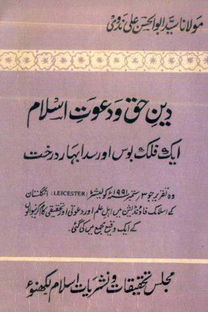 Deen-e-Haque Aur Dawate Islam - Ek Sada Bahar Darakht- دين حق اور دعوت اسلام ايک صدا بہار درخت