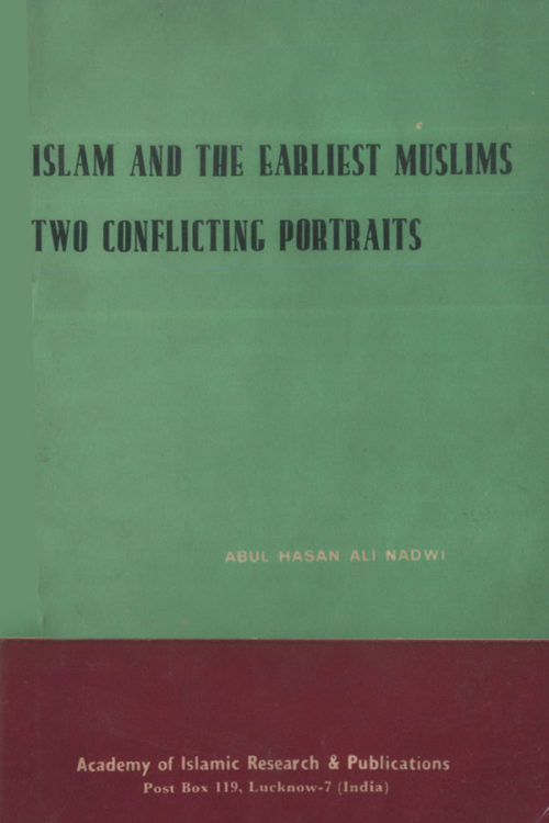 Islam and the Earliest Muslim