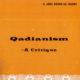 Qadianism - A Critique
