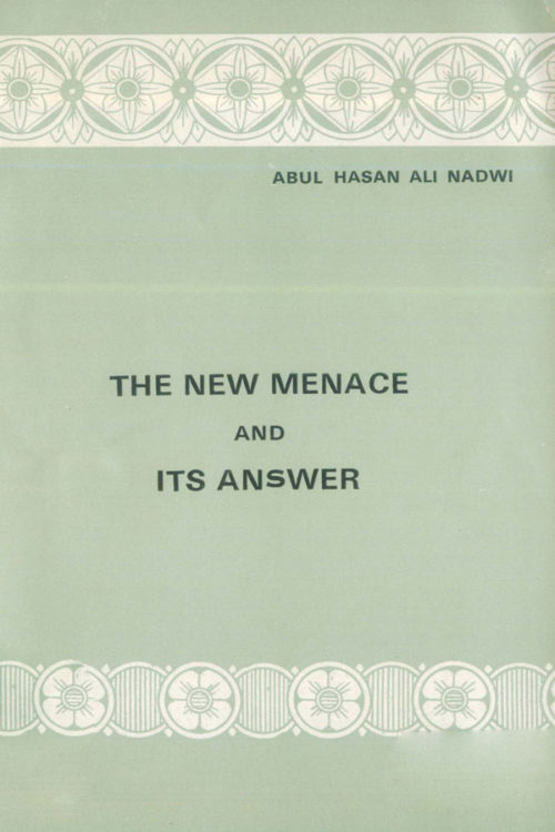 The New Menace and Its Answer